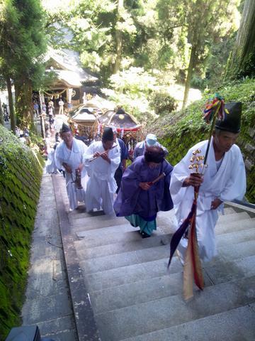 7月31日草部吉見神社夏季大祭開催