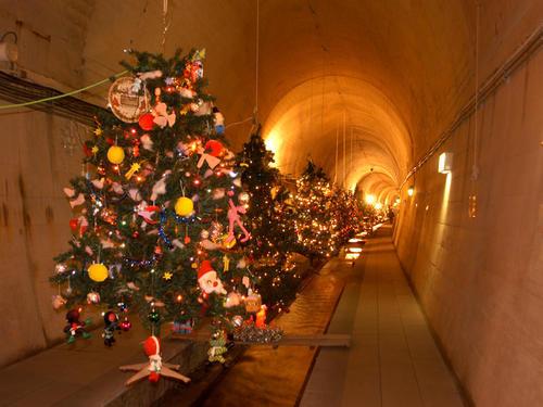 高森湧水トンネル クリスマスファンタジー
