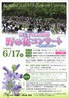 「第1回 みなみ阿蘇・野の花コンサート」開催のお知らせ